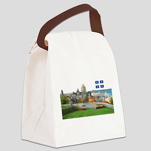 2decoupedrapeau Canvas Lunch Bag