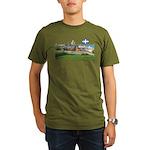 2decoupedrapeau Organic Men's T-Shirt (dark)