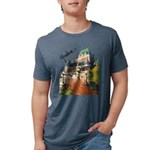 5decoupesignaturetourne Mens Tri-blend T-Shirt