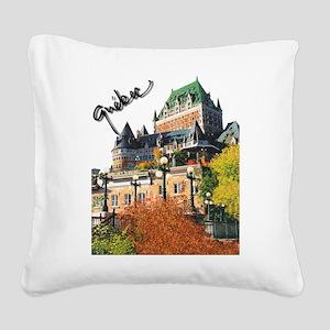 5decoupesignaturetourne Square Canvas Pillow