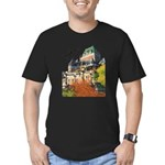 5decoupesignaturetourne Men's Fitted T-Shirt (