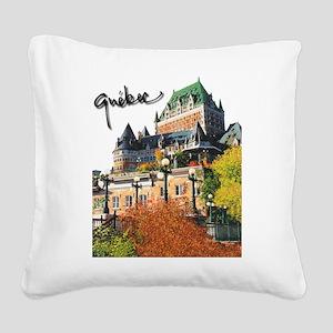 4decoupesignature Square Canvas Pillow