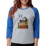 2decoupeDrapeau Womens Baseball Tee