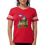 2decoupeDrapeau Womens Football Shirt