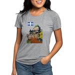 2decoupeDrapeau Womens Tri-blend T-Shirt