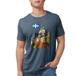 2decoupeDrapeau Mens Tri-blend T-Shirt