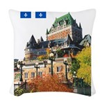 2decoupeDrapeau Woven Throw Pillow
