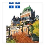 2decoupeDrapeau Square Car Magnet 3