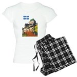 2decoupeDrapeau Women's Light Pajamas