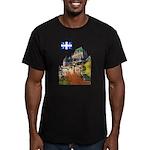 2decoupeDrapeau Men's Fitted T-Shirt (dark)