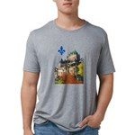 3decoupelys Mens Tri-blend T-Shirt