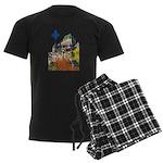 3decoupelys Men's Dark Pajamas