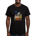 3decoupelys Men's Fitted T-Shirt (dark)