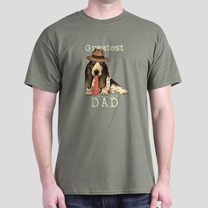 Basset Dad Dark T-Shirt
