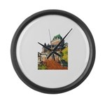 1DecoupeSeul Large Wall Clock