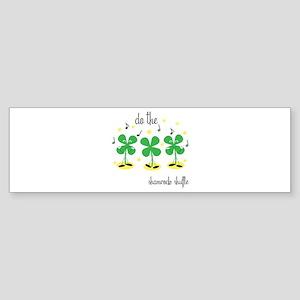 Shamrock Shuffle Bumper Sticker