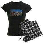 4decoupesignature Women's Dark Pajamas