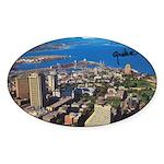 4decoupesignature Sticker (Oval 50 pk)