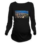 1decoupeseul Long Sleeve Maternity T-Shirt