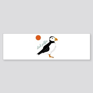 Stud Puffin Bumper Sticker