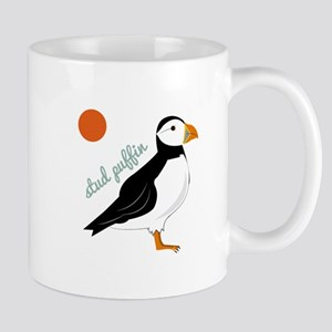 Stud Puffin Mugs