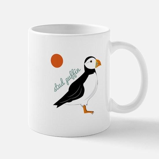 Stud Puffin Mugs