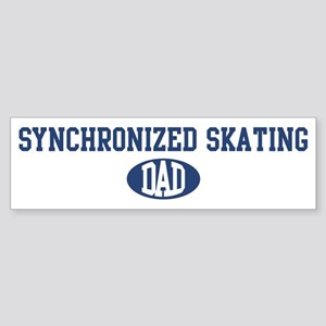 Synchronized Skating dad Bumper Sticker