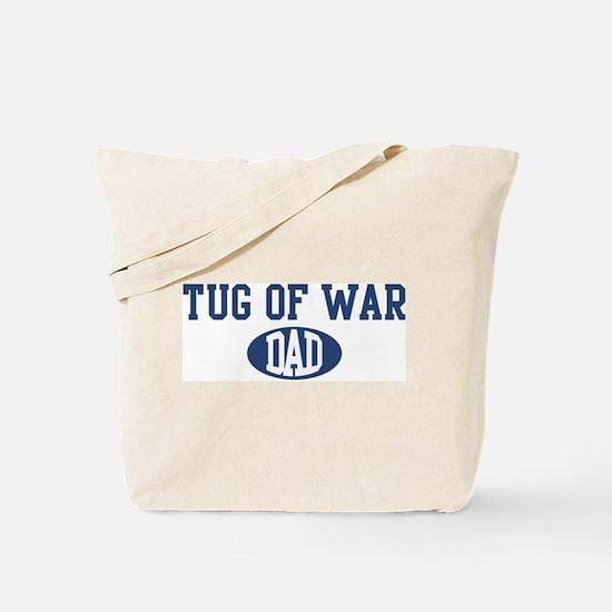 Tug Of War dad Tote Bag