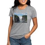 pasdecoupesignature Womens Tri-blend T-Shirt