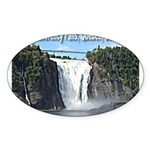 pasdecoupesignature Sticker (Oval 50 pk)