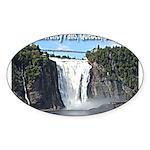 pasdecoupesignature Sticker (Oval 50 pk)