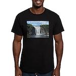 pasdecoupesignature Men's Fitted T-Shirt (dark