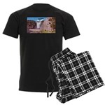 4pasdecoupesignature Men's Dark Pajamas