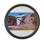 4pasdecoupesignature Large Wall Clock