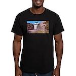 4pasdecoupesignature Men's Fitted T-Shirt (dar