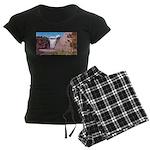 pasdecoupe Women's Dark Pajamas