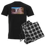 pasdecoupe Men's Dark Pajamas