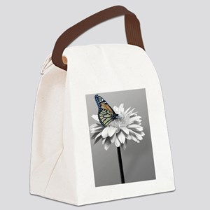 Gerbera Daisy Canvas Lunch Bag