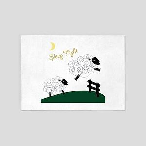 Sleep Tight 5'x7'Area Rug
