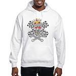 Racing Skull nad Wrenches Hooded Sweatshirt