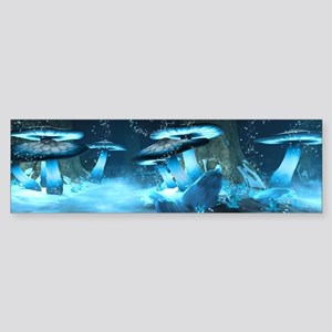 Ice Fairytale World Bumper Sticker