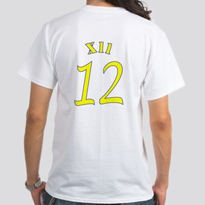 Football Colors Blue And Yellow T-Shirt
