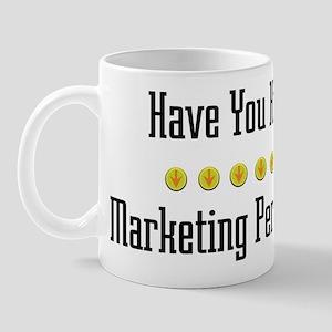 Hugged Marketing Person Mug