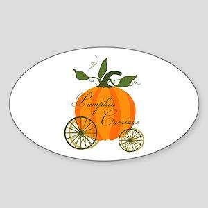 Pumpkin Carriage Sticker