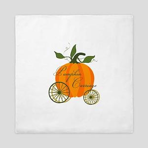 Pumpkin Carriage Queen Duvet
