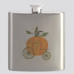 Pumpkin Carriage Flask
