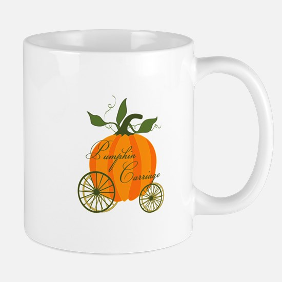 Pumpkin Carriage Mugs