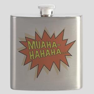 Muahahahaha Evil Laugh Flask