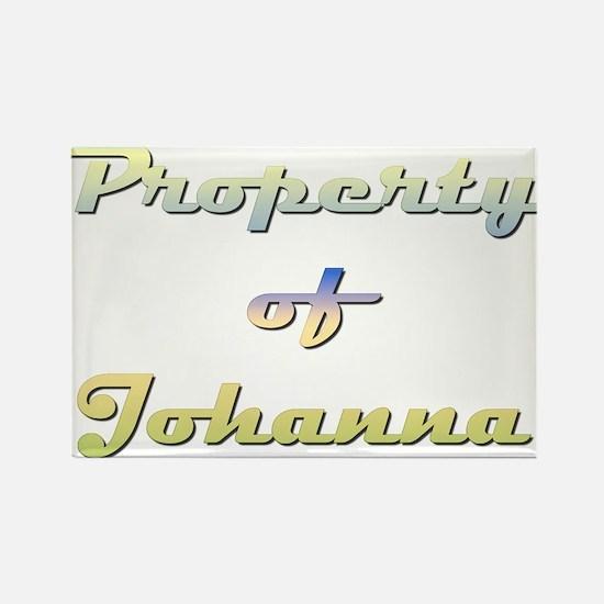 Property Of Johanna Female Magnets