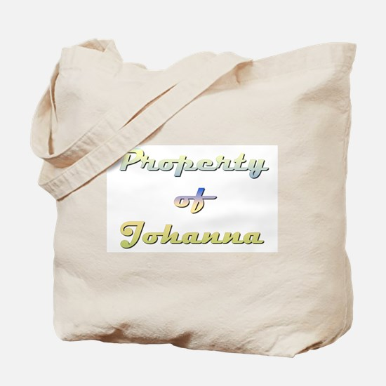 Property Of Johanna Female Tote Bag
